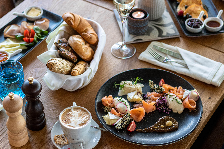 Herrliches Frühstück im Das-Franz.at